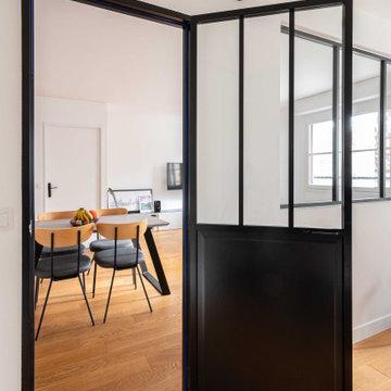 Réaménagement d'espace d'un appartement parisien