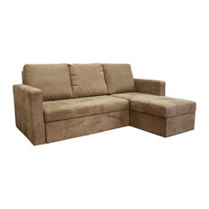 Sleeper Convertible Sectional Sofas Houzz - Convertible sofa bed sectional