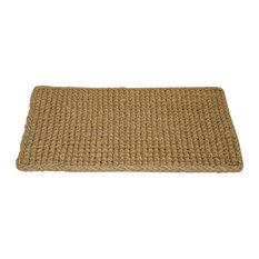 "Rectangle Dragon Coir Mat 1"" Thick Coco Mat, 18""x30"""