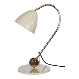 Bauhaus Swan Table Lamp, White