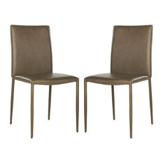 Safavieh Karna Dining Chairs, Set of 2, Antique Brown