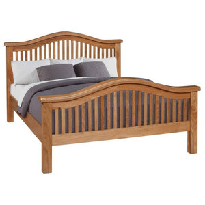 Otago Bed, Curved, Euro King