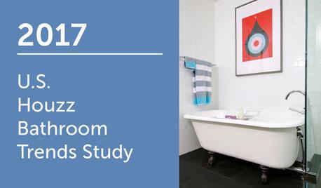 2017 U.S. Houzz Bathroom Trends Study