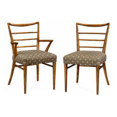 Jonathan Charles Fine Furniture   Set Of Mid Century Modern Dining Chairs,  2 And 10