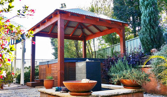 colorbond huts and gazebo's