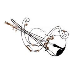 Violin Wall Art, 92x67 cm