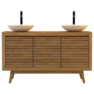 Sikka Bathroom Vanity Unit, 140 cm