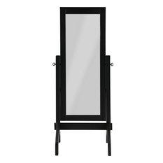 Helver Rectangle Mirror - Black