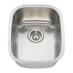 Polaris P5181-18 Rectangle Stainless Steel Bar Sink