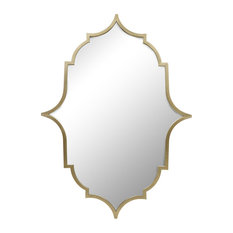 Enchant Wall Mirror, Brass