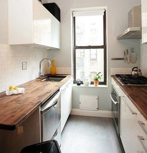 Small kitchen decor 4 smart tips and 56 examples for Smart kitchen accessories