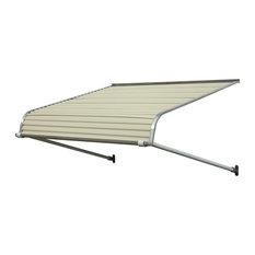 """1100 Series Aluminum Door Canopy 72""""x48"""" Projection, Almond"""