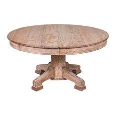 EcoFirstArt   Limed Oak Circular Dining Table   Dining Tables