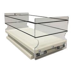 5x1x11 Storage Solution Drawer, Cream