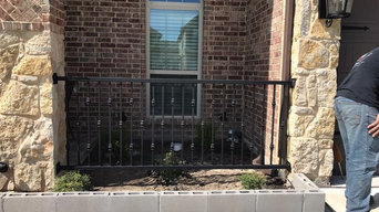 Wrought Iron Front Porch Fence