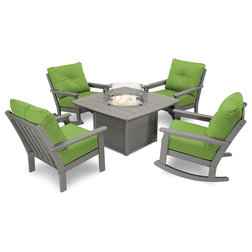 Contemporary Outdoor Dining Sets by Polywood