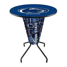 Lighted Penn State Pub Table