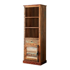 Coastal Bookcase With Drawer