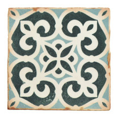 "4.88""x4.88"" Chronicle Ceramic Floor/Wall Tiles, Bakula"