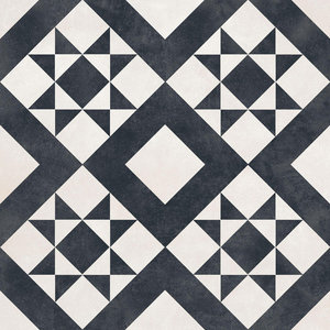 Monochrome Feature Wall and Floor Tiles, Set of 5 m²