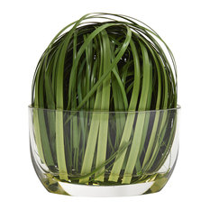 Weaving Grass Artificial Arrangement in Green