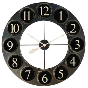 EMDE Industrial Wall Clock