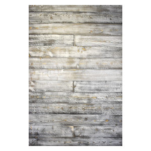 Weathered White and Gray Shiplap, Coverage: 25 Sq. ft., Mixed Length