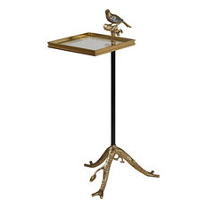 Brass and Ironend Table