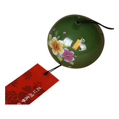 Green Ceramics Wind Chime Japan Style