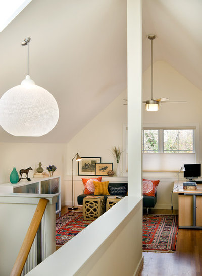 How To Salvage A Space With Slanted Ceilings