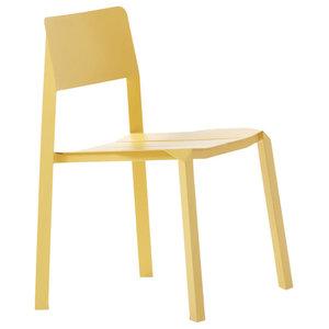 Tri Tube Chair, Yellow