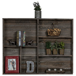 Rustic Display And Wall Shelves  by (del)Hutson Designs