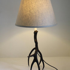 bronze antler lamp table lamps