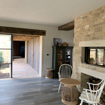 COTSWOLDS Grade 2 listed Farmhouse & New-Build Outbuildings