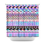 ... Shower Curtain Unique From Dianoche Designs Y Colorful Aztec Pattern ·  Missoni ...