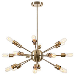 Good Midcentury Chandeliers by Light Society