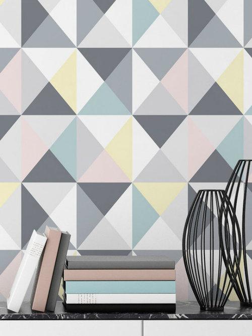 papier peint tendance scandinave. Black Bedroom Furniture Sets. Home Design Ideas
