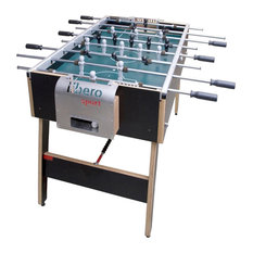 Libero® Sport Table Football, Stainless Steel With Wheels and Removable Bars