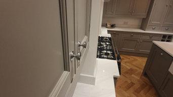 Hand Painted Kitchen Altrincham