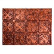 Fasade Traditional 10 Backsplash Sample, Moonstone Copper