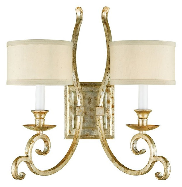 Country Cottage Candice Olson Lucy 2 Light Wall Sconce