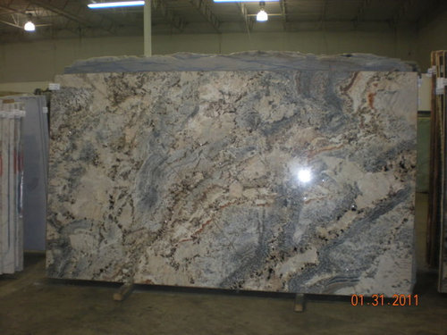 What Color Floor Tile With Light Color Granite Countertop