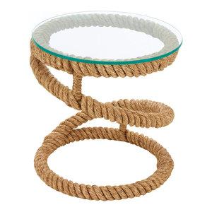 Nautical Garden Rope Table