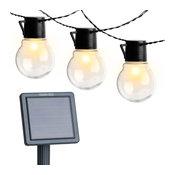 Solar Edison Patio String Lights