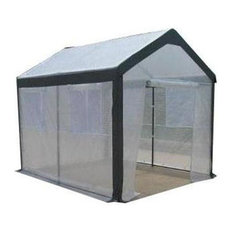 "Spring Gardener 6'6"" Hx5'Wx6'L Gable Greenhouse-IS 70506"
