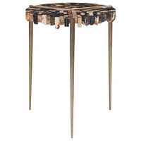 Jean End Table, Natural Dark