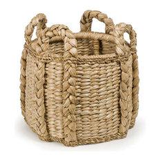 Palm Leaf Kindling Basket