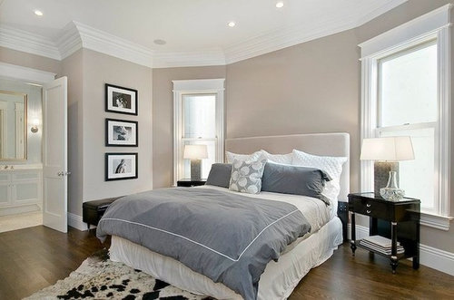 Paint color Help- Can Master Bedroom be Greige and bathroom be tan??