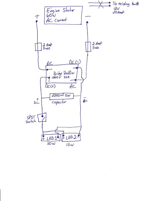 [SCHEMATICS_4ER]  Looking for feedback on adding LED lights to snow blower | Led Engine Diagram |  | Houzz