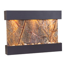 Reflection Creek Water Feature by Adagio, Brown Marble, Antique Bronze